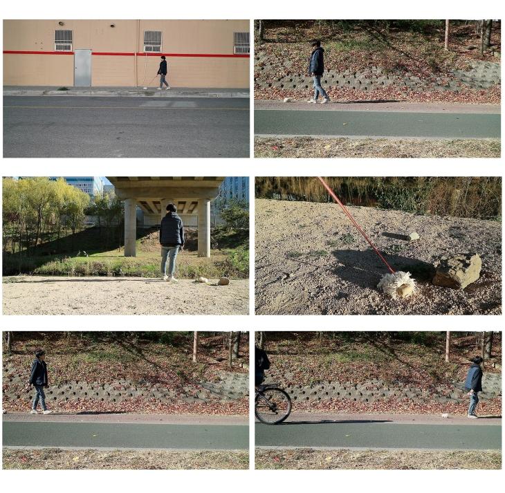 걷기:단채널비디오
